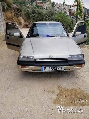 Honda in Akkar el-Atika - Honda acord mod 87