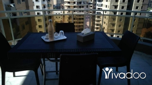 Apartments in Dam Wel Farez - شقة مفروشة للايجار عفش نضيف الضم والفرز