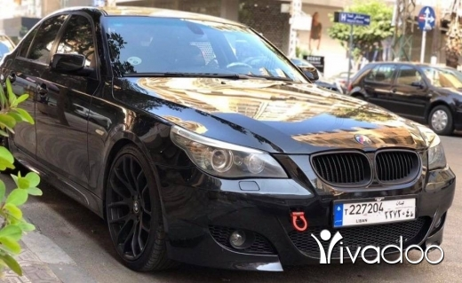 BMW in Tripoli - Bmw 535 2008,black/black,