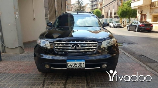 Infiniti in Beirut City - FXموديل 2005