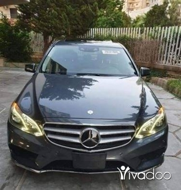 Mercedes-Benz in Beirut City - 2014 Mercedes e350