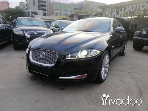 Jaguar in Baouchriye - Jaguar XF 2013 Black on black