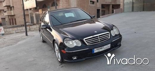 Mercedes-Benz in Nabatyeh - C230 2005 aswad aswad