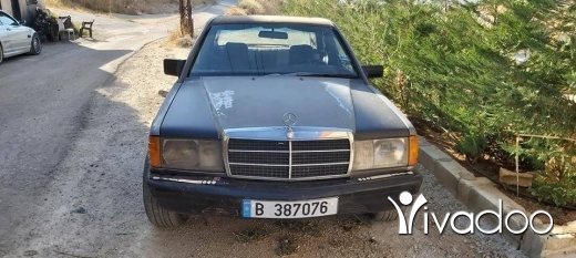Mercedes-Benz in Port of Beirut - مرسيدس ١٩٠