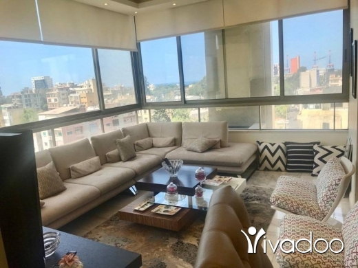 Apartments in Achrafieh -   A 185 m2 apartment for sale in Achrafieh ( Panoramic View)