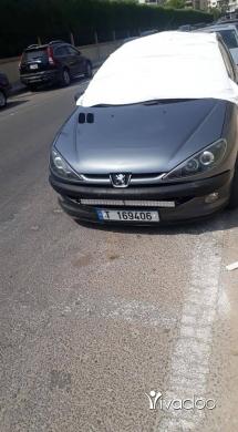 Peugeot in Tripoli - Pjo 206 mudel 2005 fites 3ade