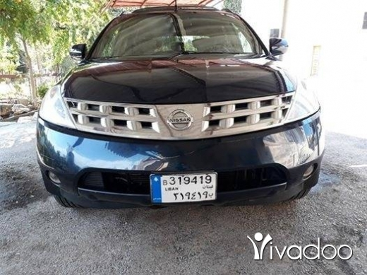 Nissan in Zgharta - Murano model 2003 tel .03667511