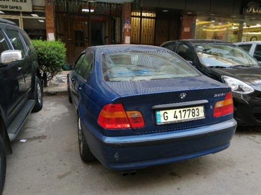 BMW in Mkalles - bwm 325i 2002 full