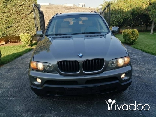 BMW in Beirut City - For sale X5 2004