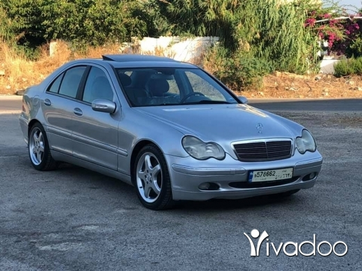 Mercedes-Benz in Tripoli - Mercedes C230 Model 2004 Full Options Ankad