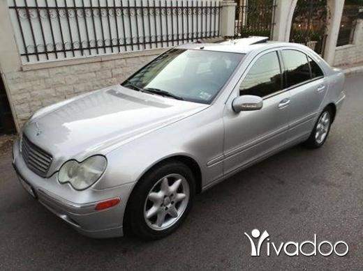 Mercedes-Benz in Zgharta - C 240 mod 2004 سوبر نضيفة ماشية ٩٦.٠٠٠ الف phone 03191533