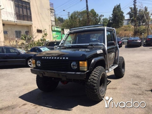 Land Rover in Beirut City - Range rover buggy