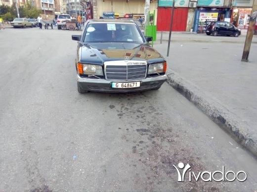 Mercedes-Benz in Tripoli - مرسيدس ٢٨٠ صندوق ٥٠٠ مودل٨٥ مازوت ٦ حديث