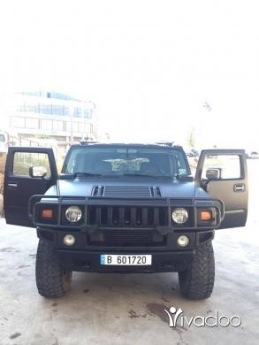 Hummer in Beirut City - HUMMER H2