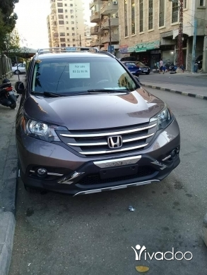 Honda in Beirut City - Honda CRV 4×4 model 2014