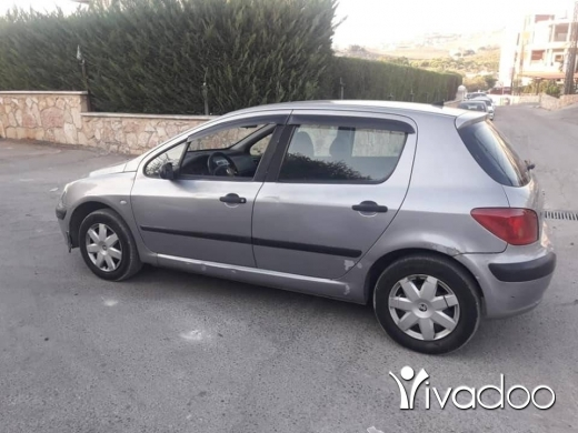 Peugeot in Nabatyeh - بيجو 2004 مفوّلة