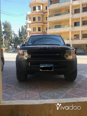 Land Rover in Beirut City - LR3 rover model 2006