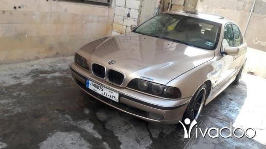 BMW in Port of Beirut - بي ام تمساح 528