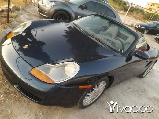 Porsche in Damour - Porsche boxster 98 vitess