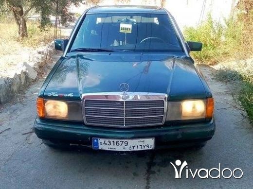 Mercedes-Benz in Beirut City - Mercceds benz190 model 93 ba3da kayen kayen