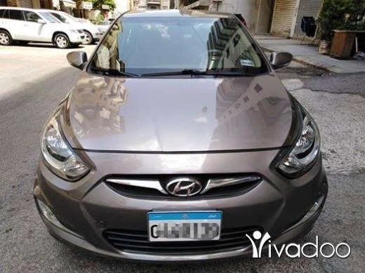 Hyundai in Beirut City - Hyundai accent 2011