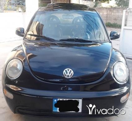Volkswagen in Chekka - فولز بيتل ل٢٠٠٢ سيارة كتير نضيفي ميكانيك نضيف مفولي أسود ألب