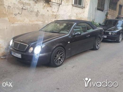 Mercedes-Benz in Port of Beirut - Clk 230