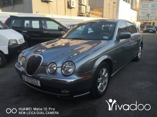 Jaguar in Beirut City - Jaguar model: 2003 silver