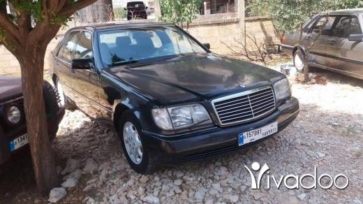 Mercedes-Benz in Chtaura - شبح 500 موديل ال92 بعدا كيان الشركة