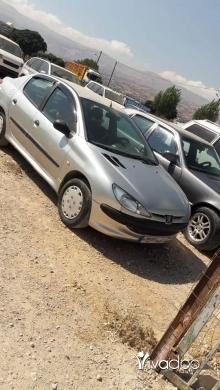 Peugeot in Port of Beirut - بيجو 206