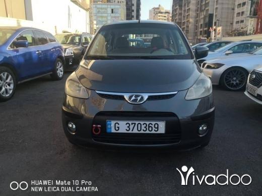 Hyundai in Beirut City - Hyundai i10 model: 2009 black