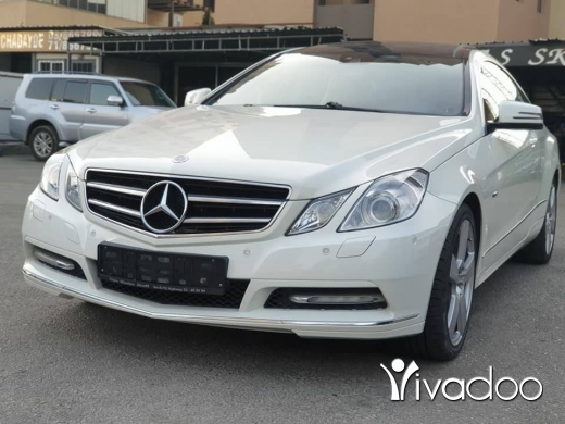 Mercedes-Benz in Port of Beirut - 2012 E200 Coupe