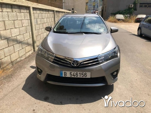Toyota in Beirut City - For sale Toyota corolla model 2014
