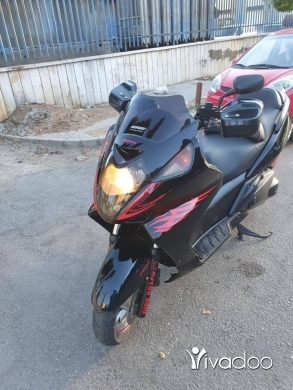 Baotian in Beirut City - Silverwing 600cc