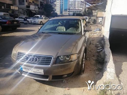 Audi in Tripoli - Audi car a4