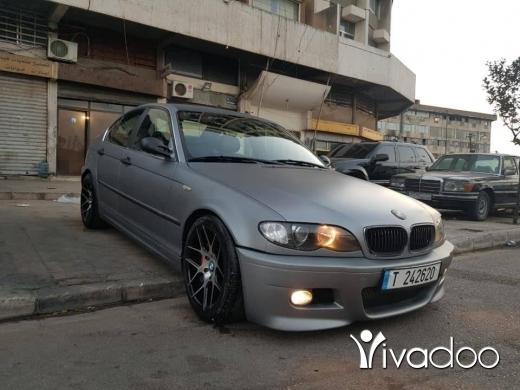 BMW in Tripoli - 330i model 2004 look