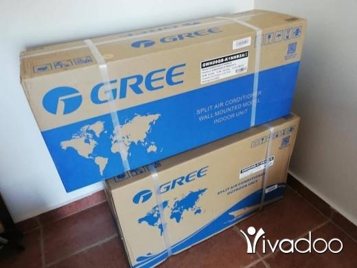 Air Conditioners & Fans for Sale in Dawhet Aramoun - مكيف مع كومريسور ماركة GREEجديد بالعلبة