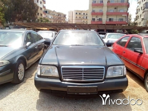 Mercedes-Benz in Port of Beirut - شبح ٣٠٠ موديل ٩٢