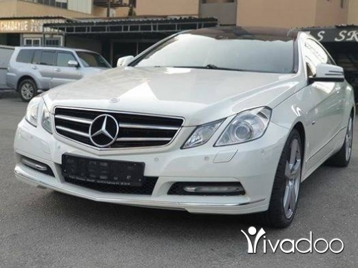 Mercedes-Benz in Beirut City - 2012 E200 Coupe / European specs / No accidents
