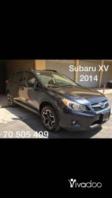 Subaru in Aley - Subaru XV 2014