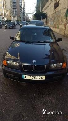 BMW in Bchamoun - 323i M 2000 full otomatik ba3da kayen wkl zaweyd mawgude fiha mikanik 2019 numar gede sayarit beyt