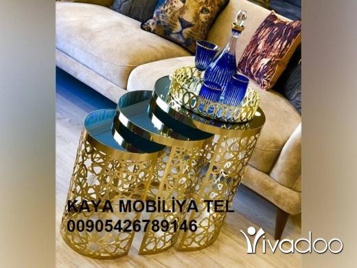 Other Goods in Al Dahye - طاولات معدنية وسط و طاولات قهوة قص ليزر