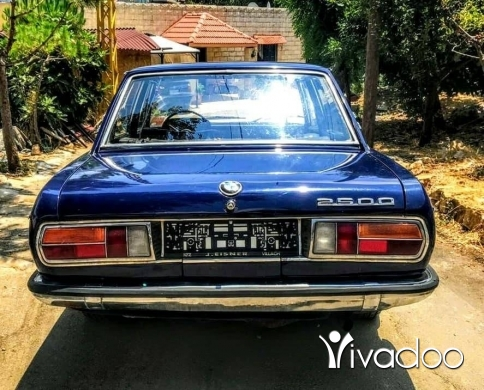 BMW in Beirut City - BMW 2500 model 1970