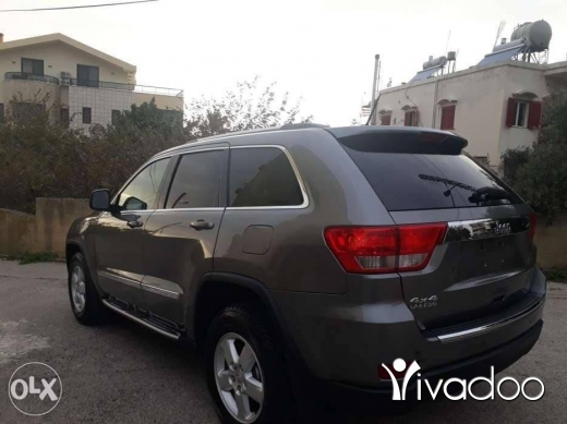 Jeep in Beirut City - 2012 grand cherokee 4x4 aj abe