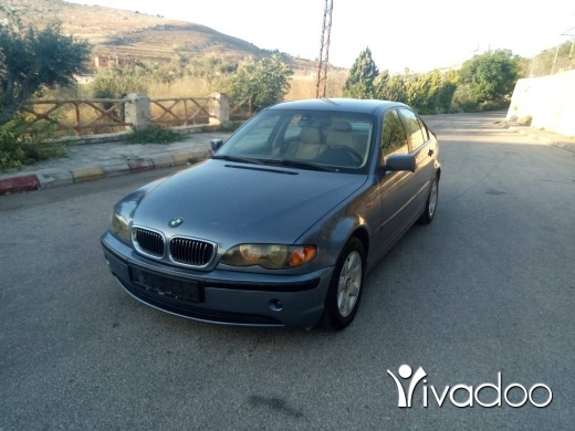 BMW in Beirut City - FOR SALE 2002 BMW 318I MFAWALI