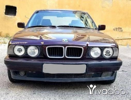 BMW in Beirut City - BMW 525 1995 full option بحاله ممتازه جدا جدا دون حوادث-ميكانيك مدفوع-دون حوادث-موتور و فيتاس بح