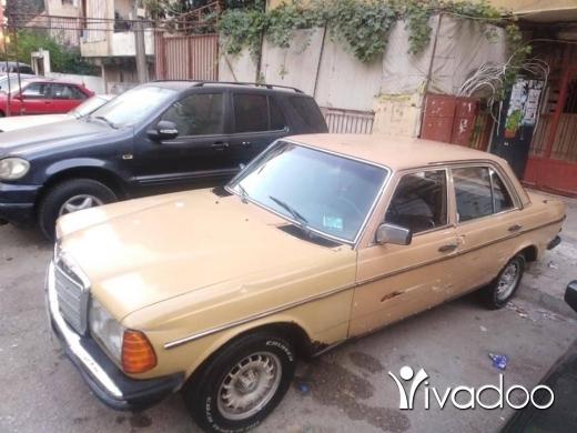Mercedes-Benz in Tripoli - اربعه سلندر اتومتيك رقم