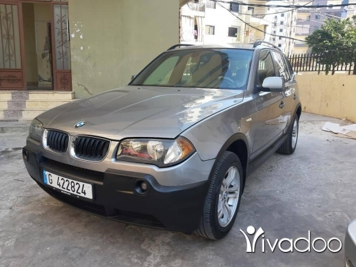 BMW in Beirut City - X3 2005 silver