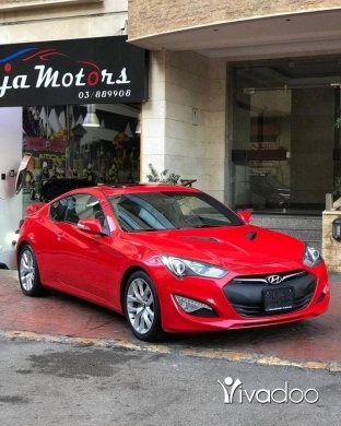 Hyundai in Beirut City - Hyundai Genesis Coupe 2014
