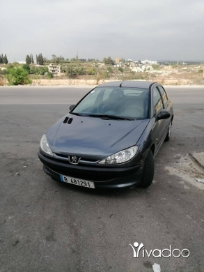 Peugeot in Sarafande - بيجو ٢٠٦